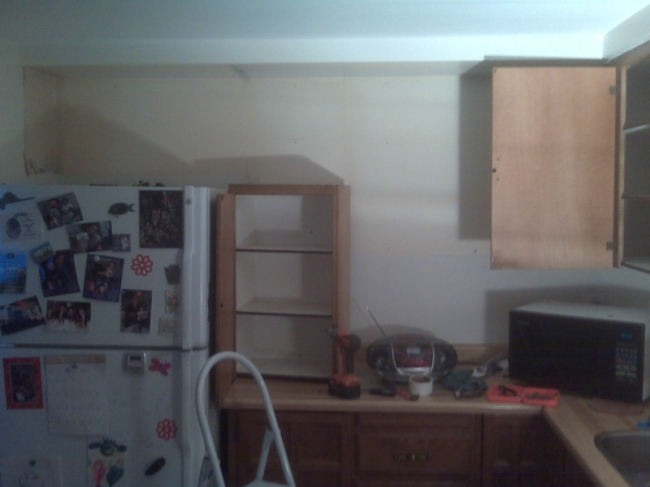 jpgTearing out old Kitchen Cupboards